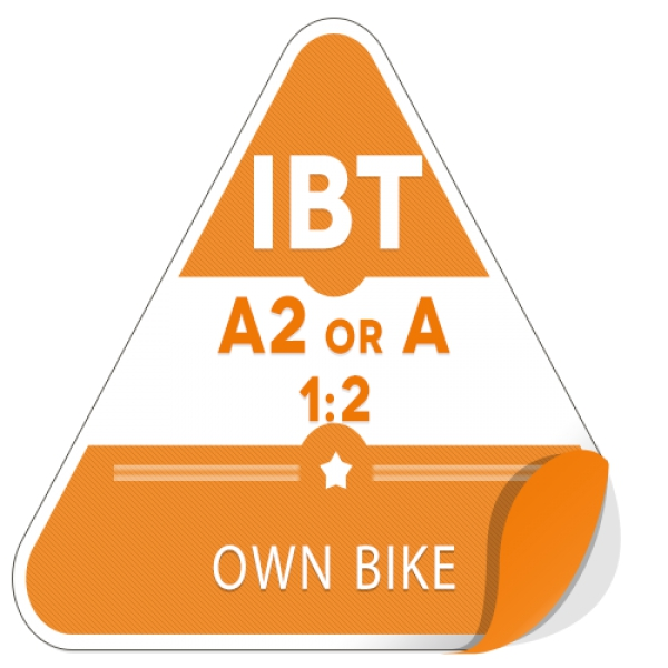 A2 or A 1:2 on Own Bike